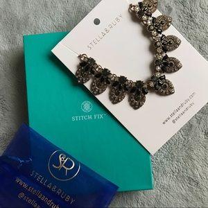 NWT Stella & Ruby Stitch Fix Shai Collar Necklace